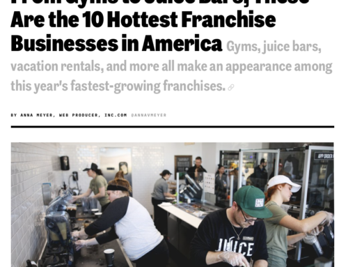 From Gyms to Juice Bars, These Are the 10 Hottest Franchise Businesses in America