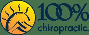 100% Chiropractic Franchise Logo
